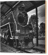 Nashville Locomotive  Wood Print