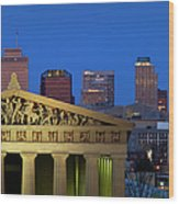 Nashville Parthenon Wood Print