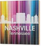 Nashville Tn 2 Wood Print