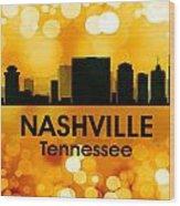 Nashville Tn 3 Wood Print