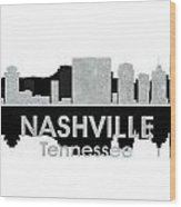 Nashville Tn 4 Wood Print by Angelina Vick