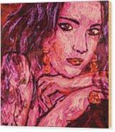 Natalie 1 Wood Print