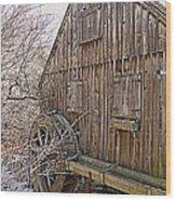Nathaniel Thomas Mill Wood Print