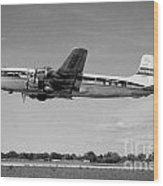 National Airlines Nal Douglas Dc-6 Wood Print