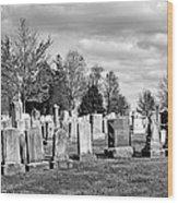 National Cemetery - Gettysburg Battlefield Wood Print