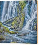 National Creek Falls Wood Print