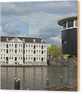 National Maritime Museum In Amsterdam Wood Print