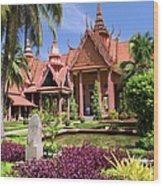 National Museum In Phnom Penh Wood Print