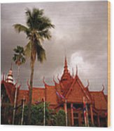 National Museum Of Cambodia Wood Print