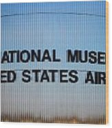 National Museum United States Air Force Wood Print