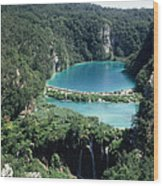 National Park Plitvice Wood Print