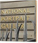 National Portrait Gallery Wood Print
