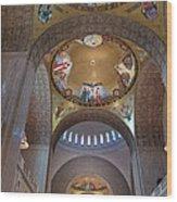 National Shrine Interior Wood Print