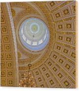National Statuary Rotunda Wood Print