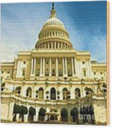 Nations Capital  Wood Print