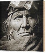 Native American Zuni -  Si Wa Wata Wa  Wood Print by Jennifer Rondinelli Reilly - Fine Art Photography