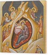 Nativity Of Christ Wood Print