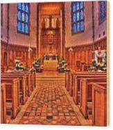 Nativity Of Our Lord Church Wood Print
