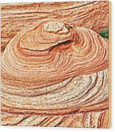 Natural Abstract Canyon De Chelly Wood Print