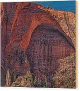 Natural Arch. Wood Print