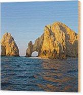 Natural Arch, Cabo San Lucas, Baja Wood Print