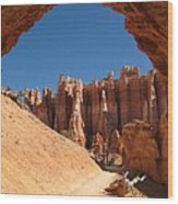 Natural Archway - Bryce Canyon Wood Print