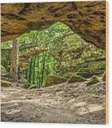 Natural Bridge Cave Wood Print