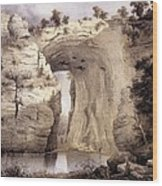 Natural Bridge, Rockbridge County Wood Print