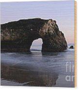 Natural Bridges State Park California Wood Print