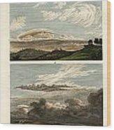 Natural History Of The Clouds Wood Print