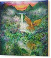 Natural Peace Wood Print