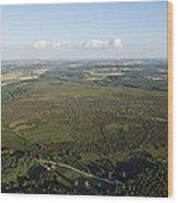 Natural Reserve Of Pinail, Vouneuil Sur Wood Print