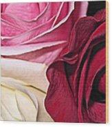 Natural Roses Wood Print