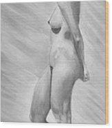 Natural Woman Wood Print
