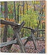 Natural Wood Wood Print