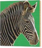 Natural Zebra Wood Print