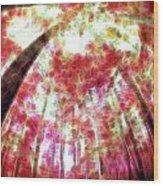 Naturally Pink Wood Print