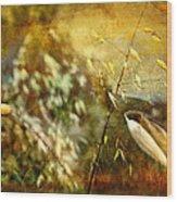 Nature #13. Calling You Wood Print