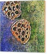 Nature Abstract 20 Wood Print