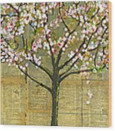 Nature Art Landscape - Lexicon Tree Wood Print