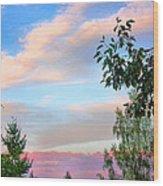 Nature Palette Wood Print