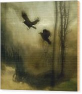Nature's Blur Wood Print