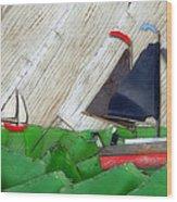 Natures Elements Art-1 Wood Print
