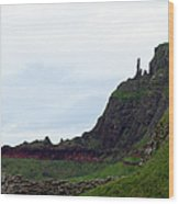 Nature's Geometry II- Giant's Causeway Wood Print