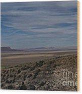 Natures Painted Desert Wood Print