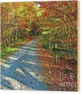 Nature's Pallette 2 Wood Print