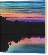 Nature's Rainbow Wood Print