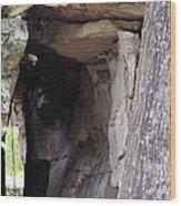 Nature's Sandstone Canopy Wood Print