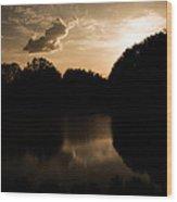 Nature's Sunset Wood Print