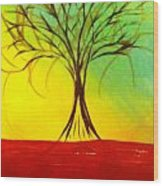Natures Vivid Colors Wood Print